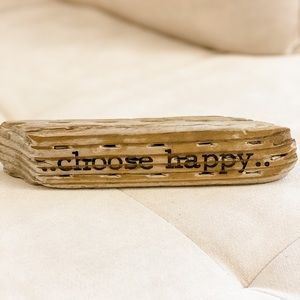 Choose Happy Wood Decor
